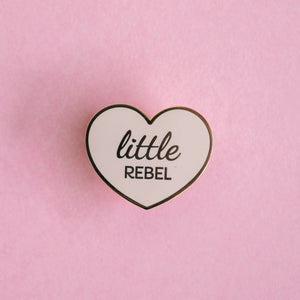 Little Rebel Heart Pin