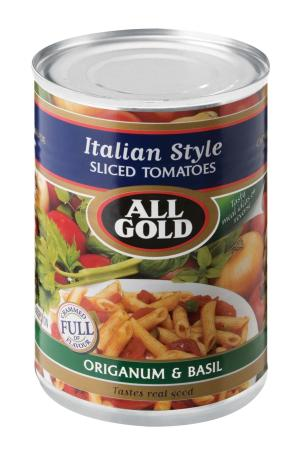 All Gold Italian Diced Tomatoes 420gm