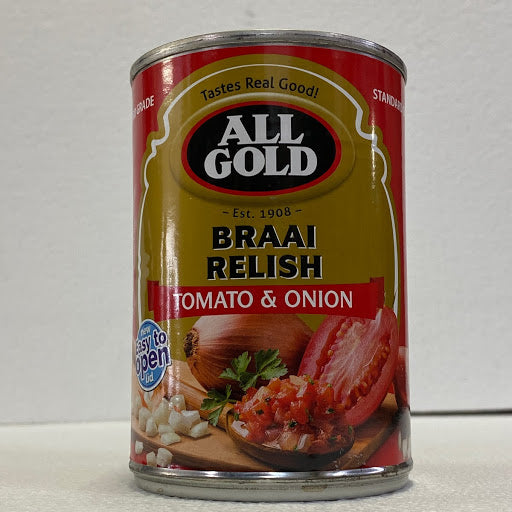 All Gold Braai Relish 410gm