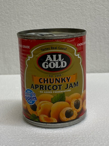 All Gold Chunky Apricot Jam 450gm