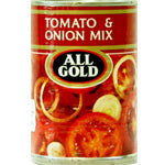 All Gold Tomato & Onion Mix 410gm