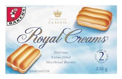 Bakers Royal Cream 280gm