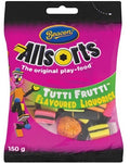 Beacon Tuttifruit Licorice Allsorts 150gm