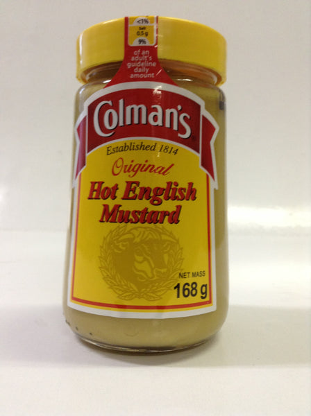 Colmans Hot English Mustard (Jar) 168gm