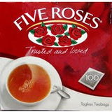 Five Roses Teabags 100's - 250gm
