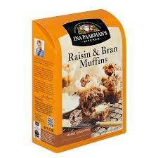 Ina Paarman Raisin Bran Muffin Mix 700gm