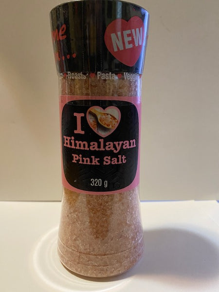 I Love Himalayan Pink Salt 320gm