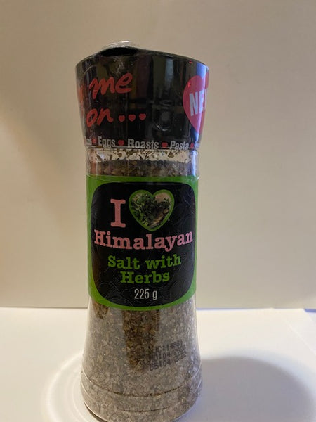I Love Himalayan Salt with Herbs 225gm