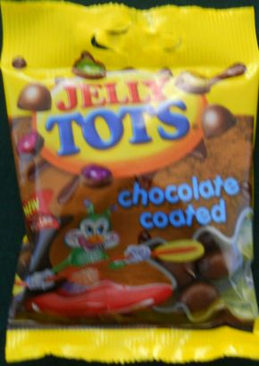 Jelly Tots Chocolate Coated 50gm