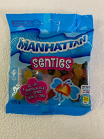 Manhattan Senties 125 gm (best before July 2021) stuck together due to change in temperature/weather