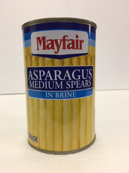 Mayfair White Asparagus Spears - Medium 430 gm