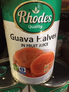 Rhodes Guava Halves in Fruit Juice 410gm