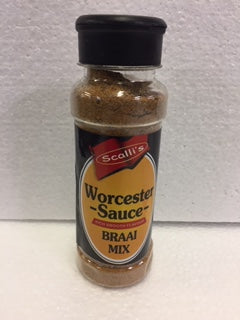 Scalli's Worcester Sauce Braai Mix 200 ml