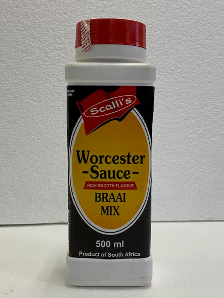 Scalli's Worcester Sauce Braai Mix 500ml