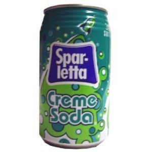 Sparletta Cream Soda Drink 6 x 300ml (Best Before Nov 10, 2020)