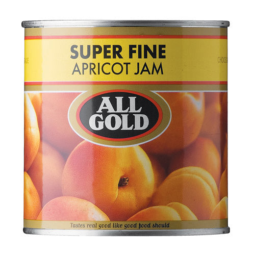 All Gold Smooth Apricot Jam 900gm