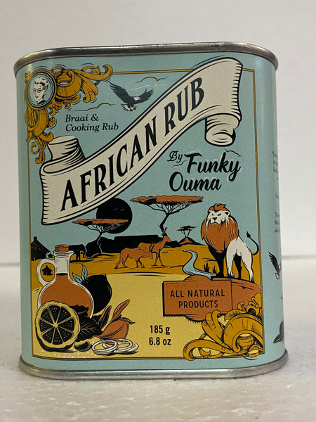 Funky Ouma African Rub (Braai & Cooking) Rub 185 gm