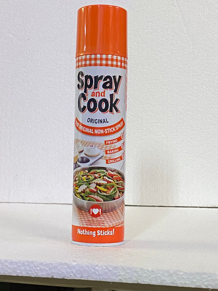 Spray & Cook Spray 300ml (Original Non-Stick Spray) Halaal/B&D