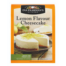 Ina Paarman Lemon Flavour Cheese Cake 250gm