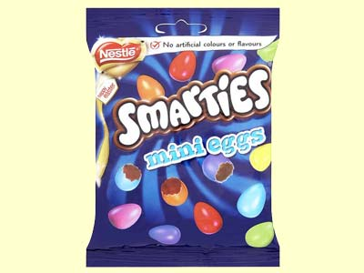 Nestle Smarties Mini Eggs Candy 85gm