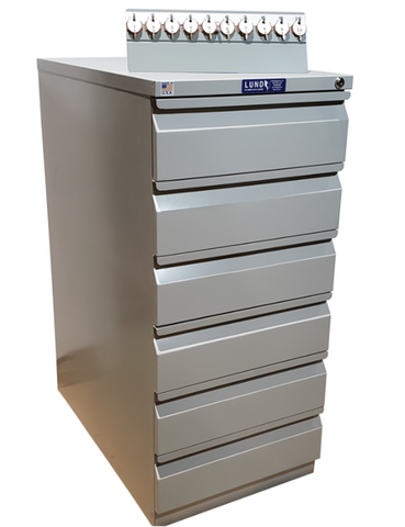Lund Six Drawer Key Cabinet