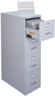 Lund Four Drawer Key Cabinet