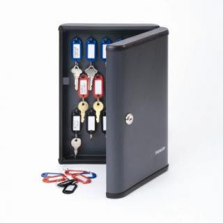 Steelmaster Key Cabinet Charcoal Grey