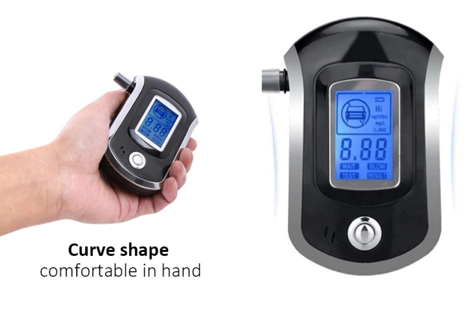 breathalyzer Professional Digital Breath Alcohol Tester