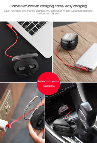 Image of wireless earbuds