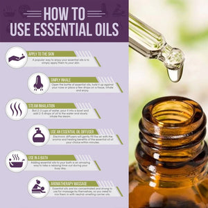 Essential Oils Aromatherapy (12 bottles 3ml)