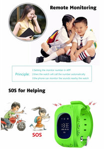 kid watch tracker