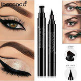 waterproof liquid eyeliner pencil with stamp