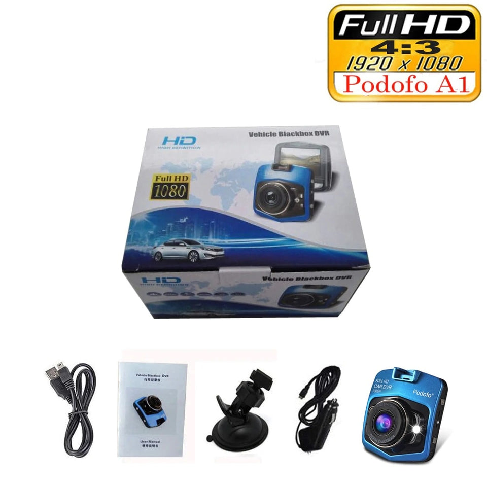 Premium Mini Car DVR Dashcam [Full HD 1080P]