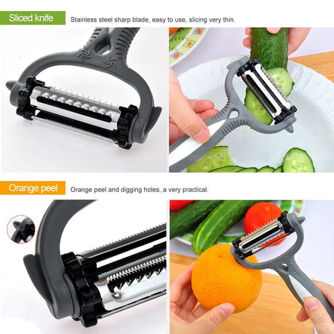 Image of kitchen tool vegetable peeler multifunctional