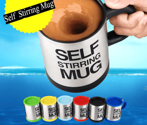 Image of self stirring mug
