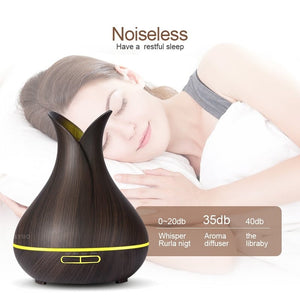 400ml Aroma Essential Oil Diffuser & Air Humidifier