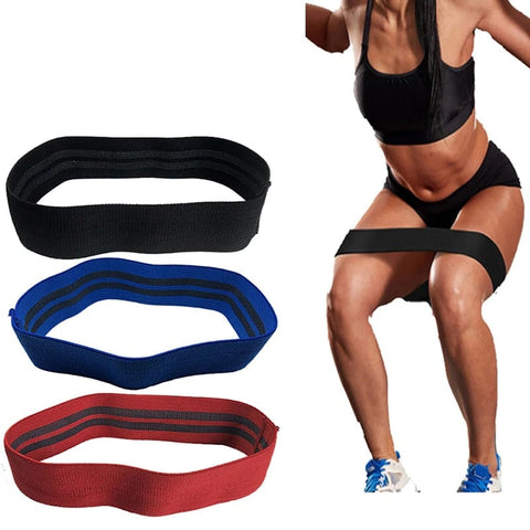 Image of Hip & Ass Workout Resistance Band (Non-Slip)