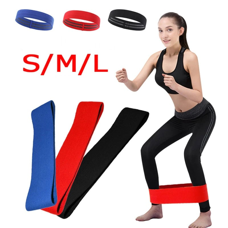Hip & Ass Workout Resistance Band (Non-Slip)
