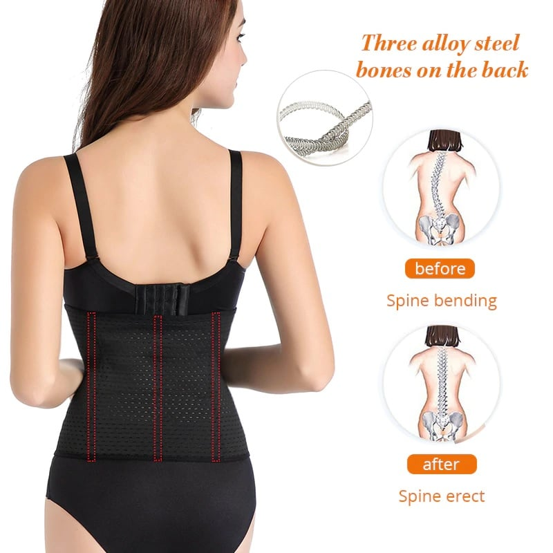 Waist Training Corset & Slimming Belt