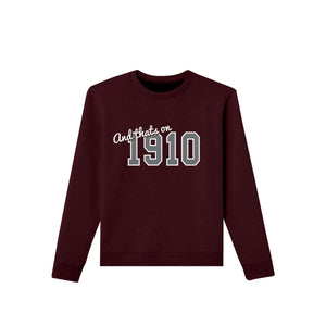 maroon cotton crewneck