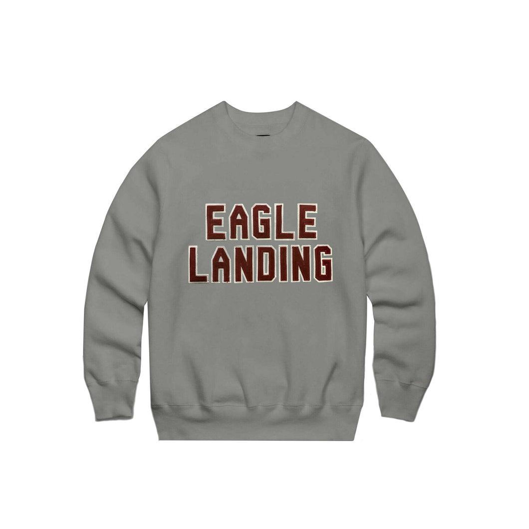 Tackle Twill Grey Hall Crewnecks