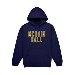 Women's Navy McNair Hall Embroidered Hoodie