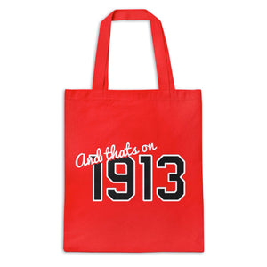 And That's On 1913 Tote