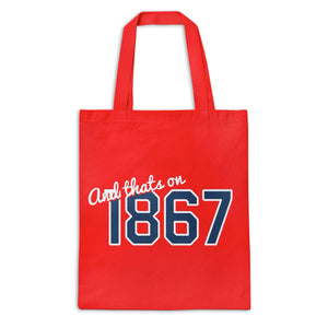 And That's On 1867 Tote