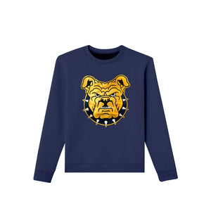 navy cotton crewneck