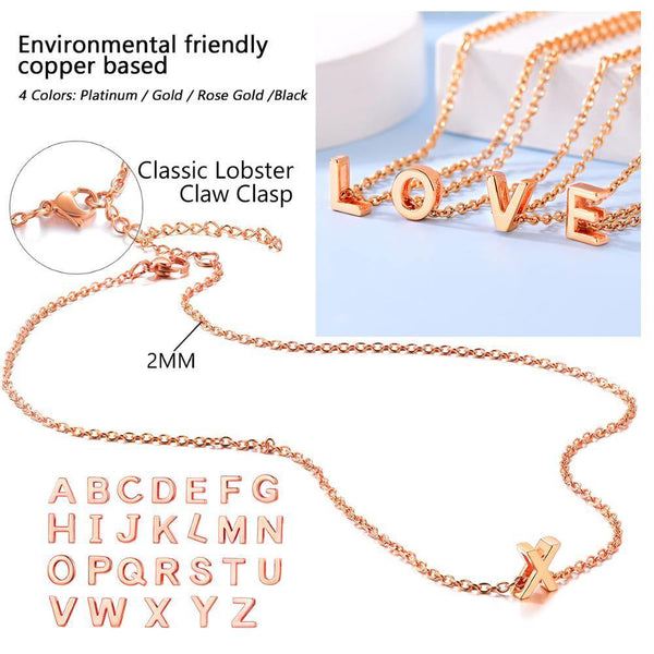 Personalized Letter Necklace - eDealMentor