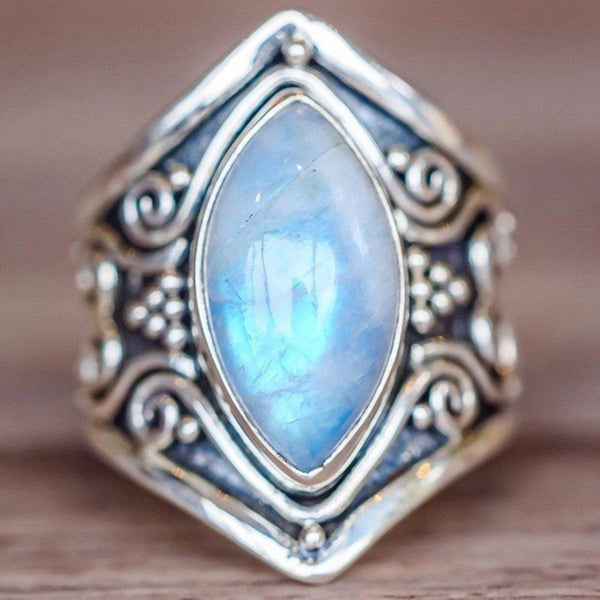 Vintage Stone Ring for Women - eDealMentor