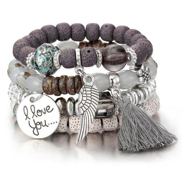 Natural Stone Charms Bracelets for Women - eDealMentor