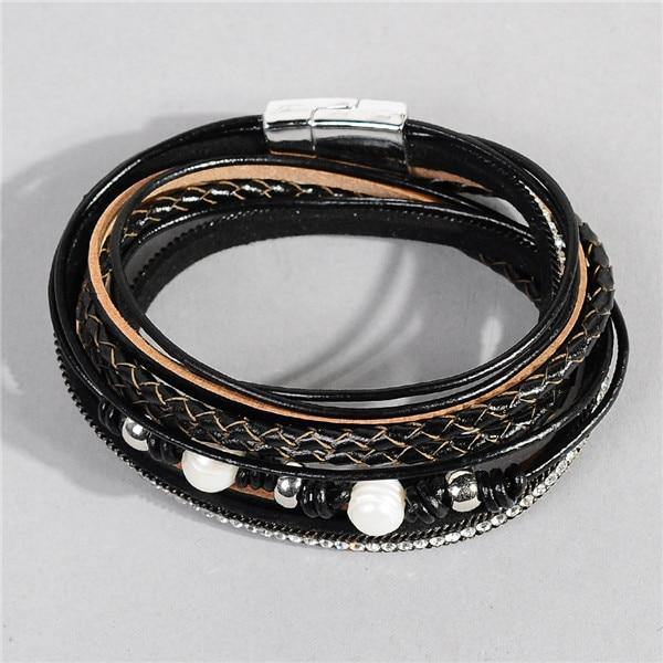 Leather wrap bracelet for women - eDealMentor