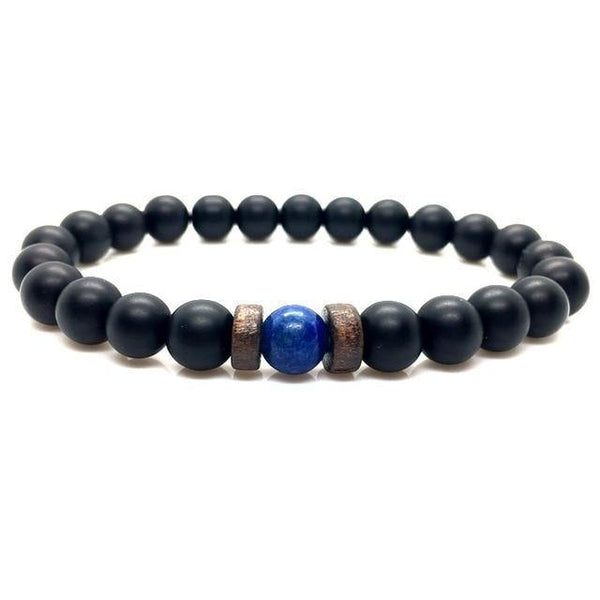 Chakra Lava Stone Bracelet for Men - eDealMentor